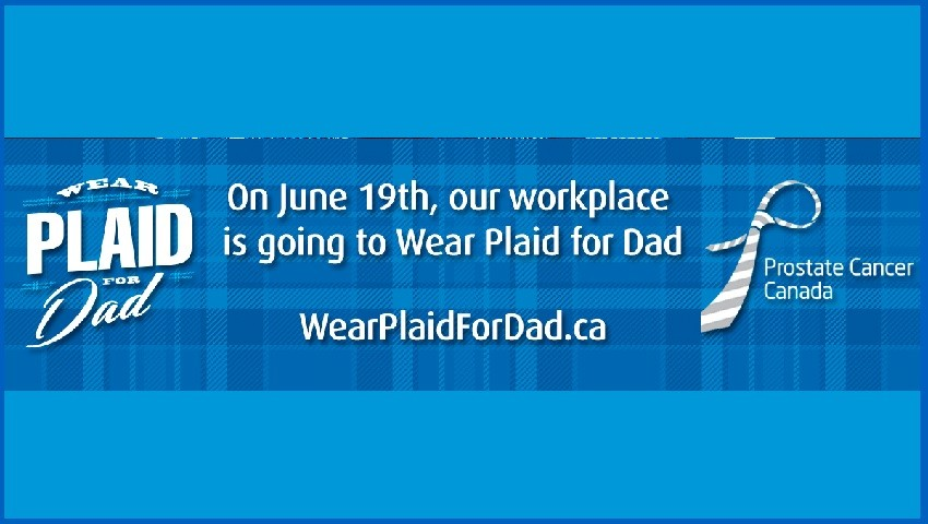 Wear Plaid for Dad!